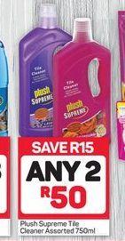 Plush Supreme Tile Cleaner 2 offer at R 50