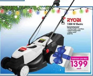 Ryobi 1200W Lawnmower offer at R 1399