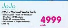 JoJo 5250 l Vertical Water Tank offer at R 4999