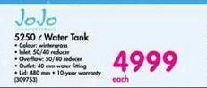 JoJo 5250 l Water Tank offer at R 4999