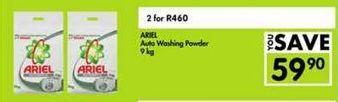 Ariel Auto Washing Powder 2 offer at R 460