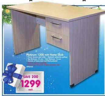Platinum 1200mm Home Desk offer at R 1299