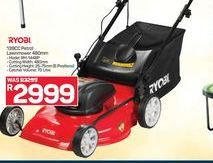 Ryobi 139CC Petrol Lawnmower offer at R 2999