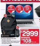 Connex 14'' Atom Slimbook Bundle offer at R 2999