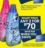 Comfort Concentrated Fabric Conditioner 2 offer at R 70