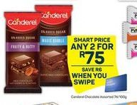 Canderel Chocolate 2 offer at R 75
