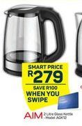 Aim Glass Kettle offer at R 279