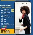 Hisense U963 Smartphone 4G LTE offer at R 799