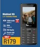 Mobicel K6 2.4'' Feature Phone offer at R 179