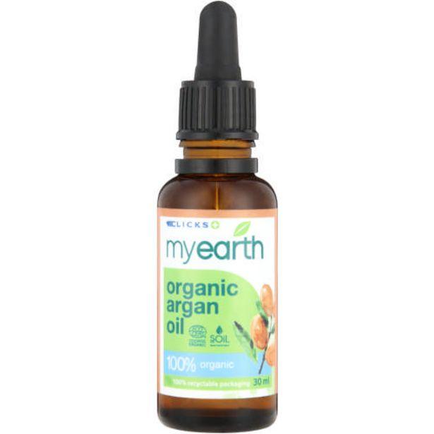 Organic Argan Oil 30ml offers at R 128