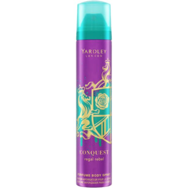 Conquest Body Spray Regal Rebel 90ml offers at R 31,99