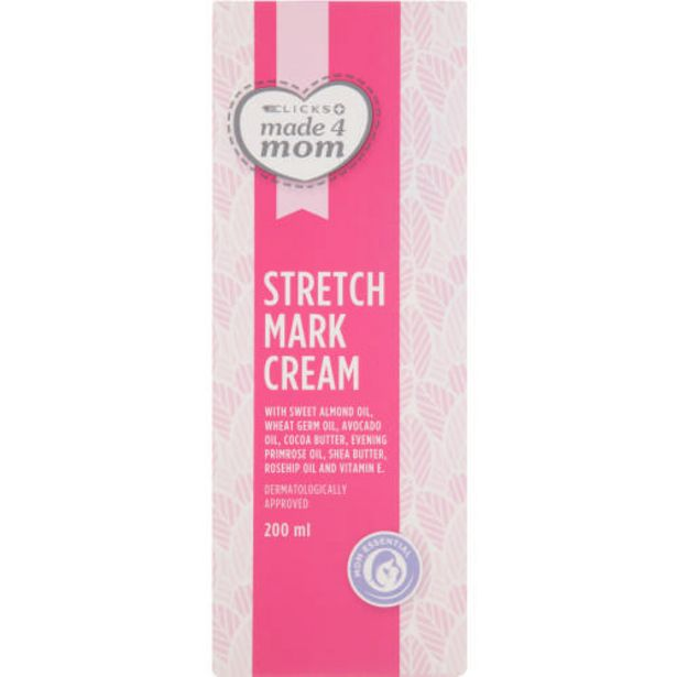 Stretch Mark Cream With Tissue Oils 200ml offers at R 75,99