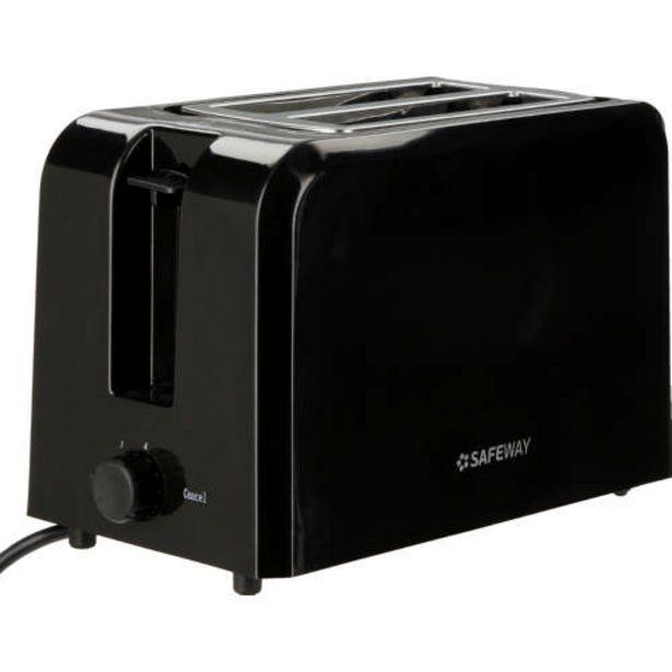 2-Slice Toaster Black offer at R 239