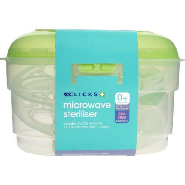 Microwave Steriliser And Bottles offer at R 239,99