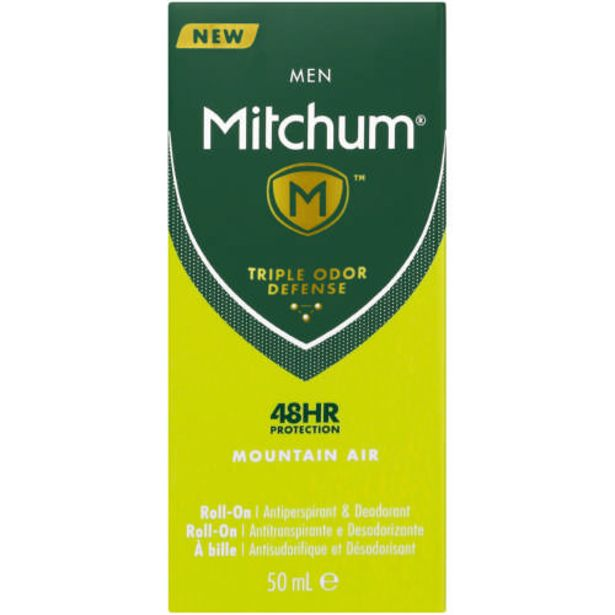 Advanced Anti-Perspirant & Deodorant Roll-On For Men Mountain Air 50ml offers at R 43,99