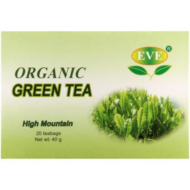 Organic Green Tea 20 Sachet offers at R 35,99