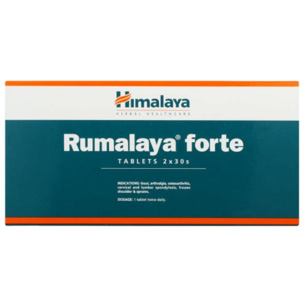 Rumalaya Forte Tablets 60 Tablets offers at R 145