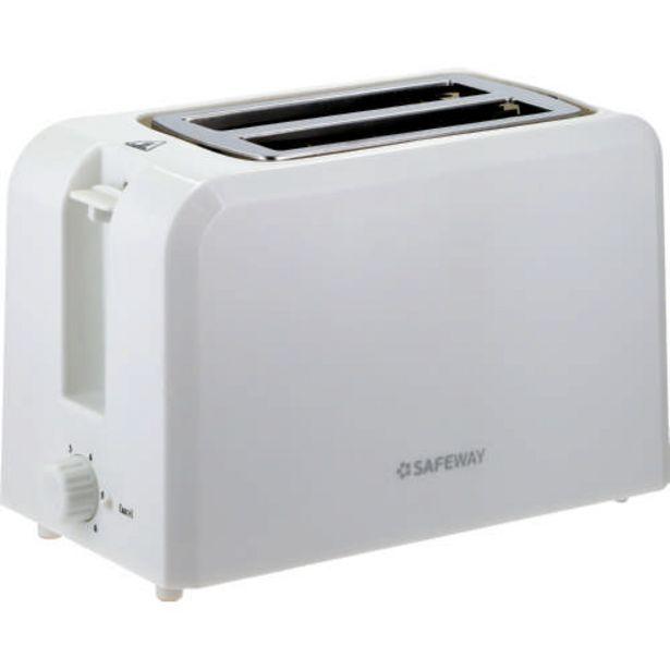 White 2 Slice Toaster offer at R 239