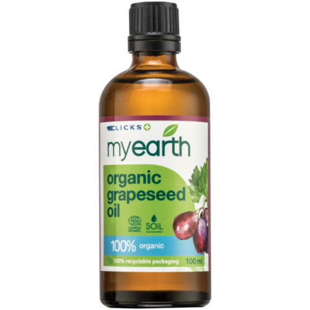 Organic Grapeseed Oil 100ml offers at R 91,99