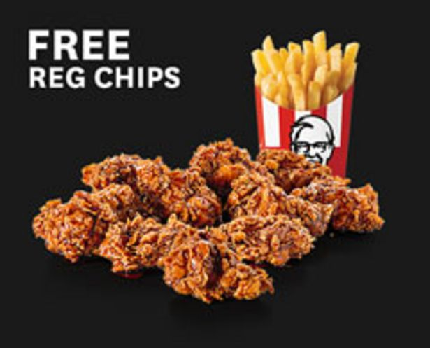 10 Dunked Wings + FREE Reg Chips offers at R 69,9