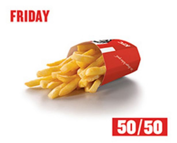 Reg chips 50/50 offers at R 8,45