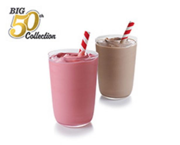 Strawberry Milkshake offers at R 19,9