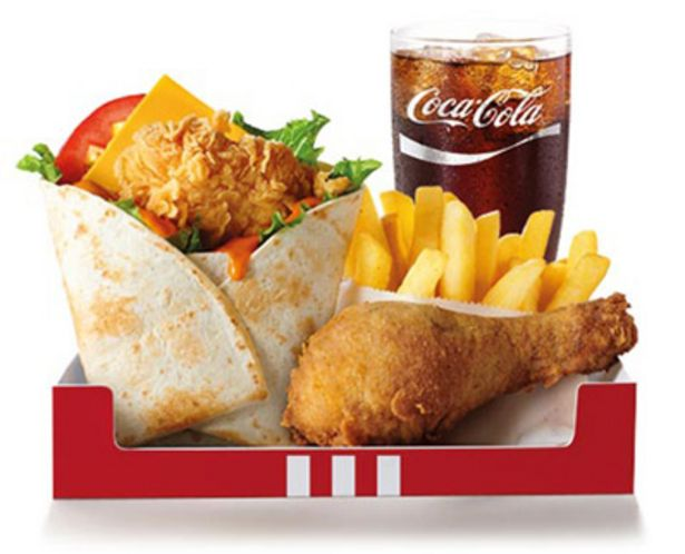 Wrapsta Box with Regular Drink offers at R 49,9