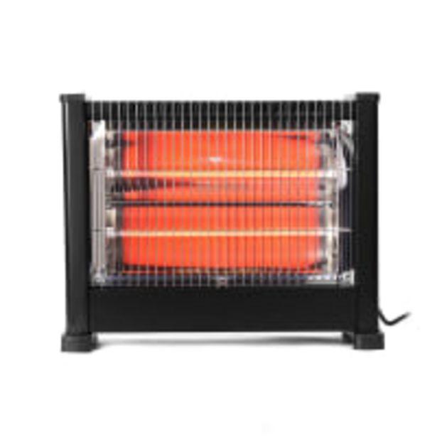 DIXON 3-Bar Quartz Heater 1800W offer at R 399,9