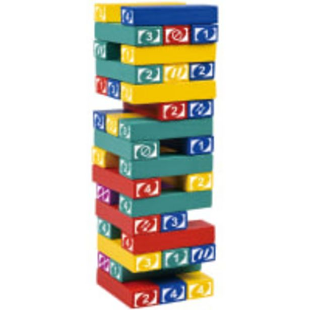 Jenga-style Tipping Blocks Game offer at R 139,9