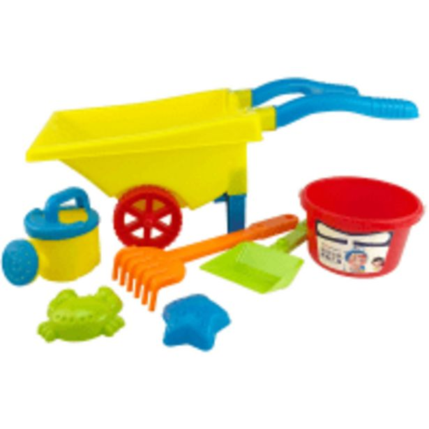 6-piece Beach Set with Wheelbarrow offer at R 99,9