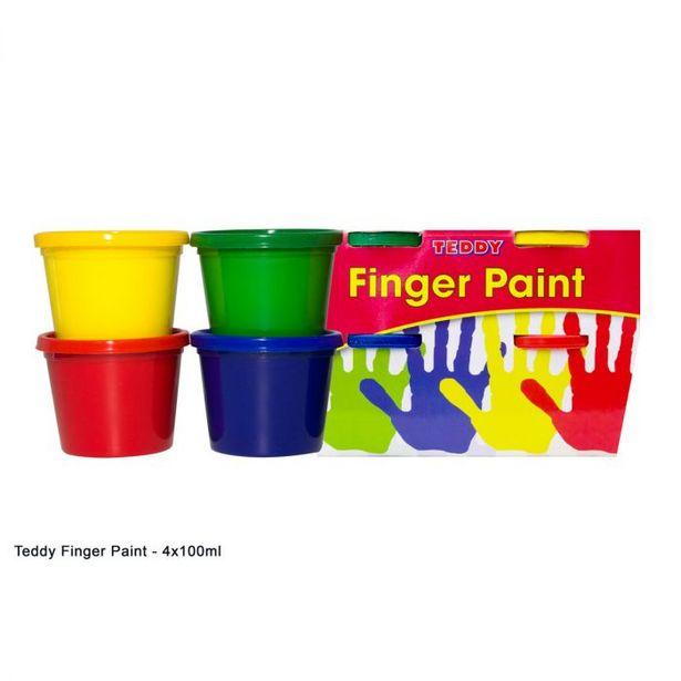 Finger Paint 4 x 100g offer at R 39,9