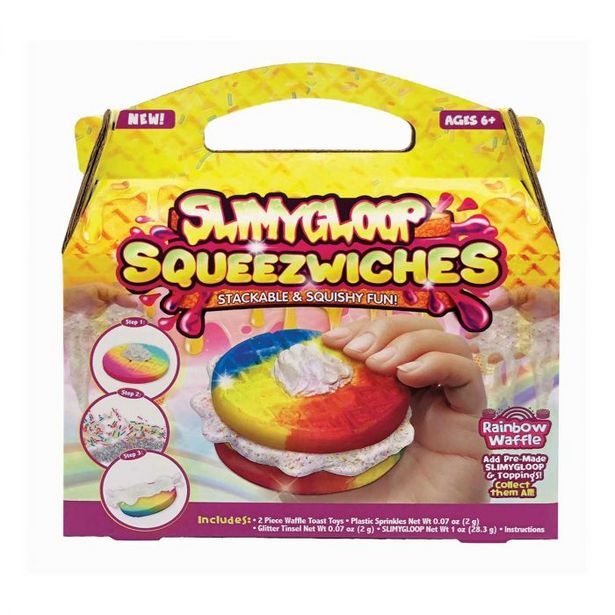 Rainbow Waffle Squeezwiches offer at R 69,9