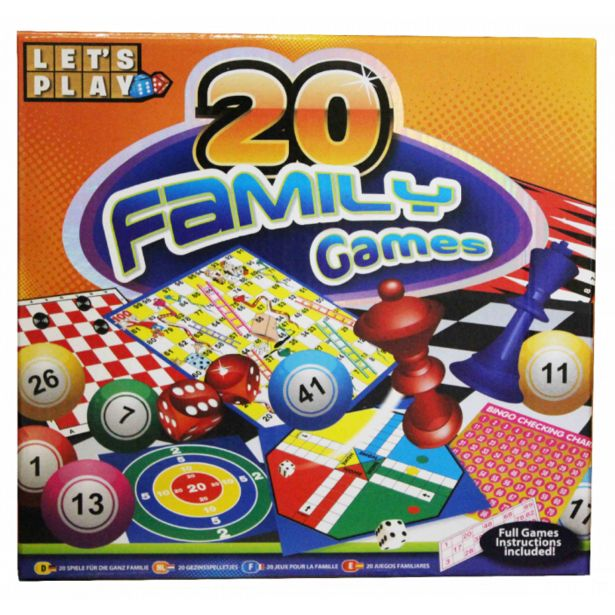 20 Family Games offer at R 79,9