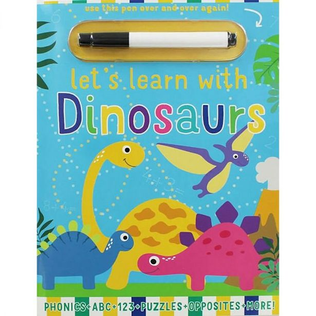 Let's Learn With Dinosaurs offer at R 69,9