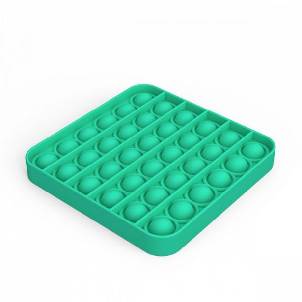 Silicone Fidget Square Popper Assorted offers at R 69,9