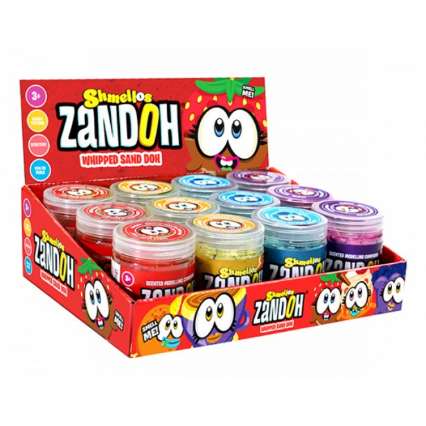 115G Scented Zandoh Whipped Sand Dough Assorted offers at R 29,9