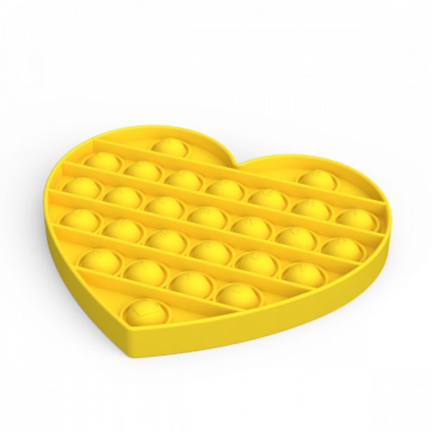 Silicone Fidget Heart Popper Assorted offers at R 69,9