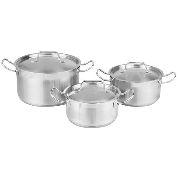 LEGEND PRO CHEF 6PC COOK SET offers at R 1399