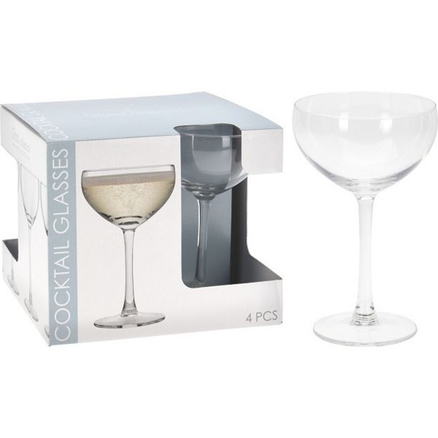 EH 4 COCKTAIL GLASSES 240ML offers at R 154