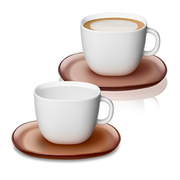 Lume Cappuccino Cup Set offers at R 499