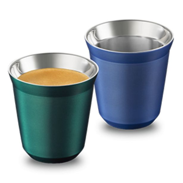 Pixie Lungo Set: Stockholm Fortissio Lungo & Tokyo Vivalto Lungo offers at R 499