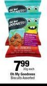 Oh My Goodness Biscuits offer at R 7,99