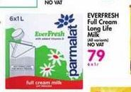 Parmalat EverFresh Long Life Milk  offer at R 79