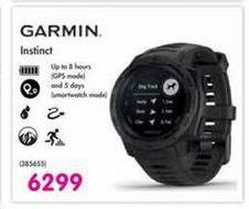 Garmin Instinct offer at R 6299