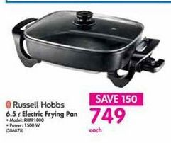 Russell Hobbs 6.5 l Electric Frying Pan offer at R 749