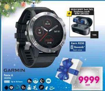 Garmin Fenix 6 offer at R 9999