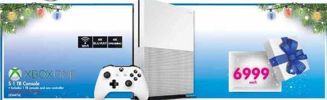 Xbox One S 1TB Console offer at R 6999