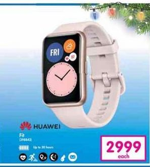 Huawei Fit offer at R 2999