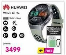 Huawei Watch GT 2e offer at R 3499