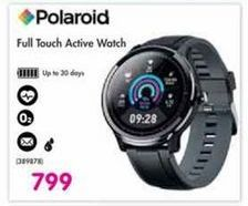 Polaroid Full Touch Active Watch offer at R 799